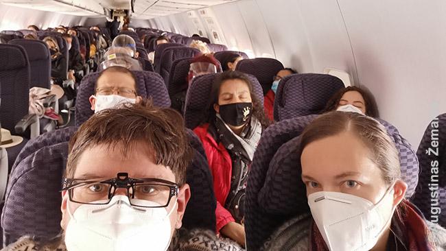 Skrydyje į Ekvadorą