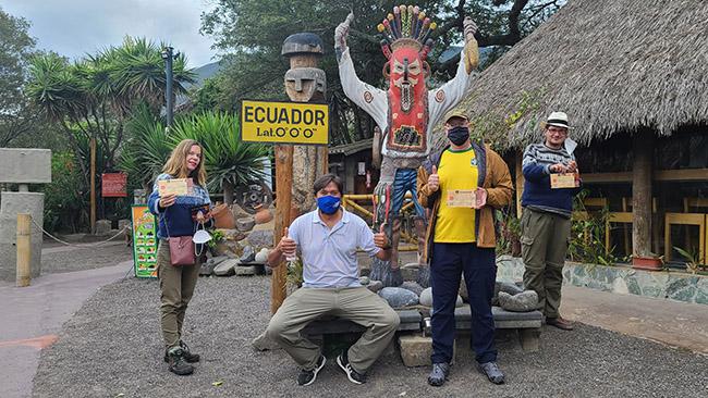 Bendra nuotrauka su turistu iš Amerikos