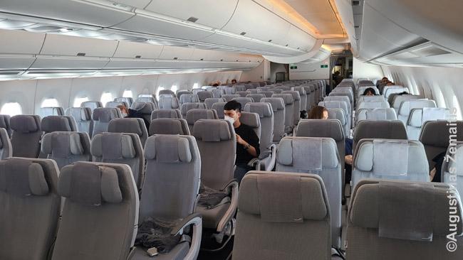 Tuščias Finnair lėktuvas