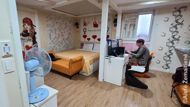 Dirbu Kjongdžu motelyje