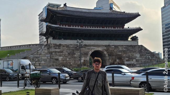 Prie Seulo Namdemun vartų
