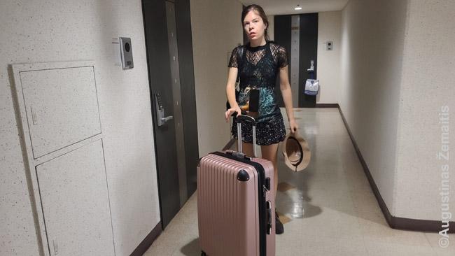 Tipinis maksikmalus lagaminas registruojamam bagažui