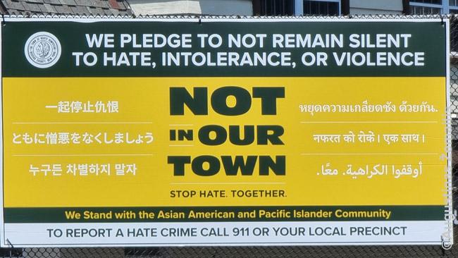 Savivaldybės atsišaukimas prieš azijiečių diskriminaciją Niujorke
