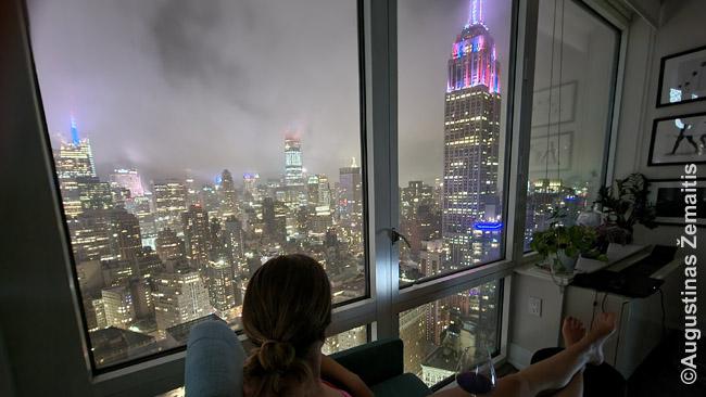AirBnB bute Niujorke