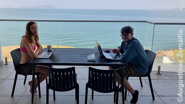 Dirbame bute prie Panamos kanalo vartų