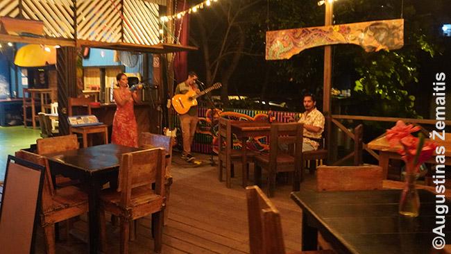 Panamoje jau būna ir gyva muzika