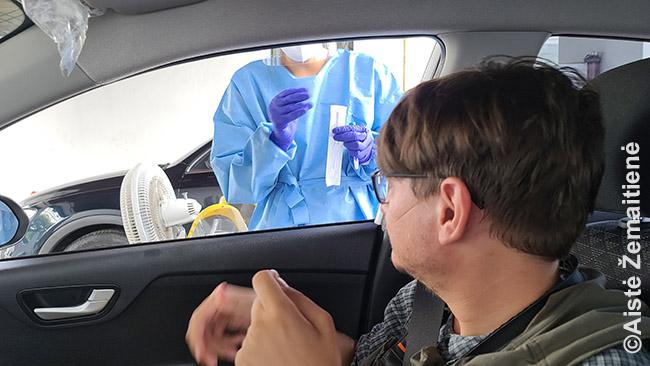 Koronaviruso testas Panamoje, kurio reikia prieš skrydį į Gvatemalą - čia ir mokami, privatūs testai dažnai daromi iš automobilių