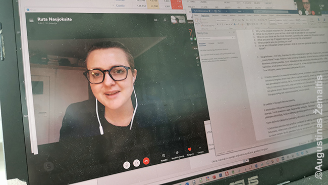 Pirmas nuotolinis interviu - Lithuanian Dream tinklalaidei. Skaitmeniniam klajokliui nuotoliniai interviu gerai - kadaise, būdavo, jei negali atvykti į kokią studiją, esi niekam neįdomus