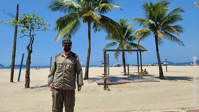 Santoso paplūdimyje