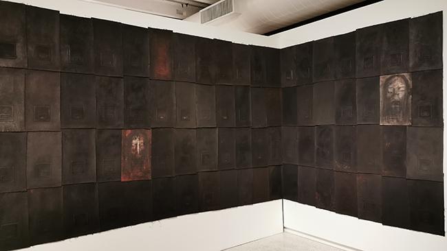 Koronavirusą atspindinčioje galerijoje Nijemejerio modernaus meno muziejuje