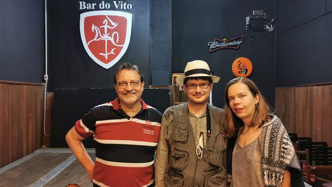 Su Markosu Lipu Bar do Vito lietuvių bare