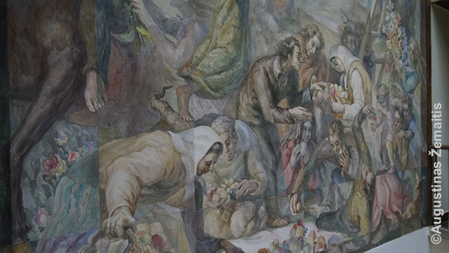 Lietkoopsąjungos freskos fragmentas