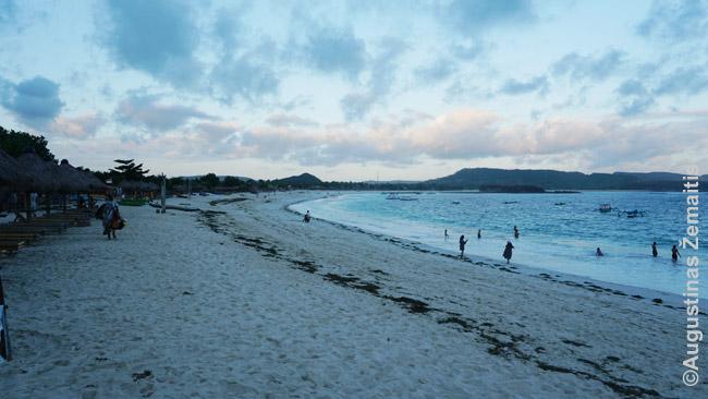 Tanjung Aan paplūdimys pietiniame Lomboko krante