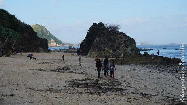 Gražiausi Lomboko paplūdimiai pietiniuose salos krantuose