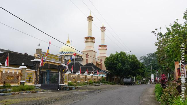 Statoma didelė mečetė Tetebatu kaime, Lomboke