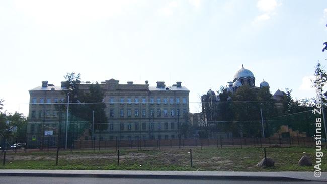 Lukiškių kalėjimas iš išorės (viduje draudžiama fotografuoti)