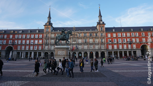 Plaza Mayor aikštė