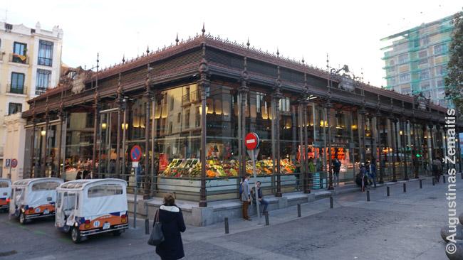 Istorinis Madrido turgus