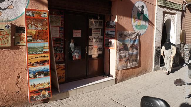 Kelionių agentūros ekskursijų siūlymai Marakeše