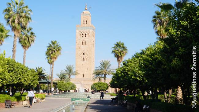 Kutubijos mečetė Marakeše