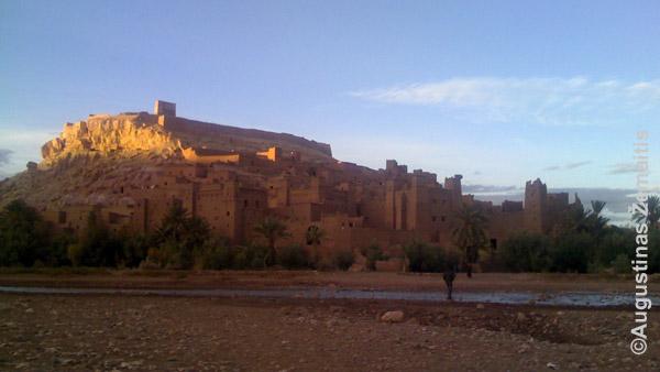 Dykumų tvirtovė Maroke