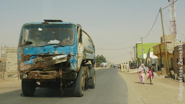 Sunkvežimis Nuakšute