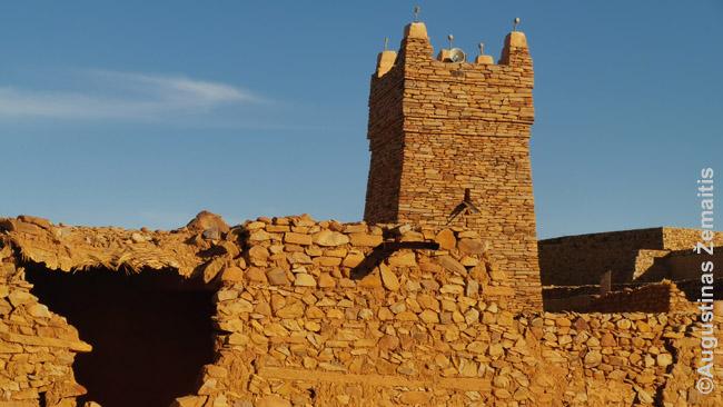 Sena mečetė Mauritanijos Šingečio mieste, per kurį driekdavosi musulmonų prekyba kupranugariais