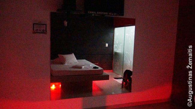 Motelio kambarys Brazilijoje