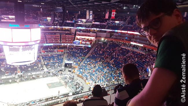 Iš mano vietų NBA arenoje
