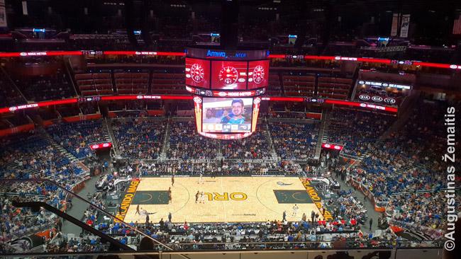 NBA varžybose