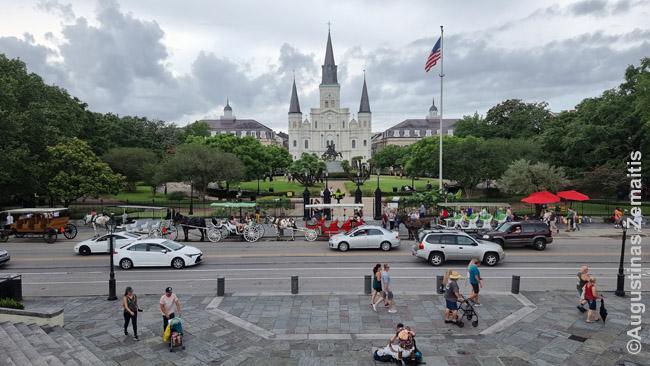 Naujojo Orleano širdis - Džeksono aikštė