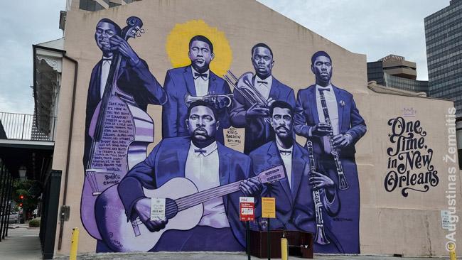 Džiazo muzikantų freska