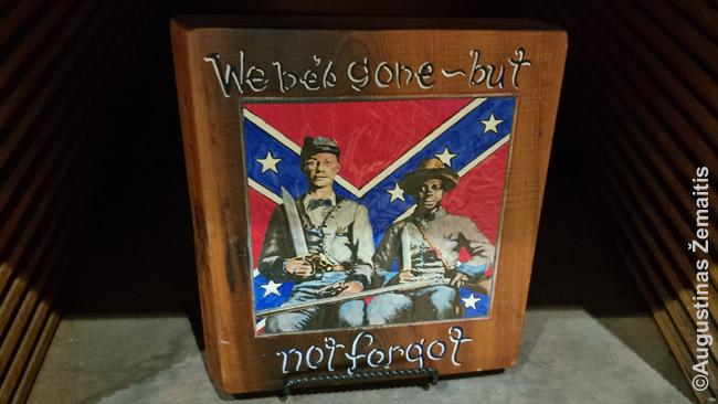 Juodaodžiai Konfederacijos kariai Džefersono Deiviso bibliotekoje
