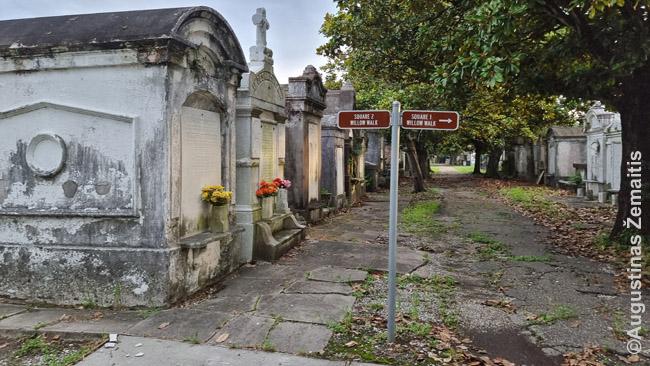 Lafayette pirmosios kapinės Naujojo Orleano Misijų rajone