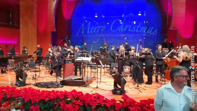 Šventinis koncertas Gran Kanarijoje. Į jį spėjome nueiti, nors Naujųjų metų Gran Kanarijoje ir nepraleidome