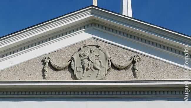 Vytis Niagara Folso lietuvių bažnyčios frontone