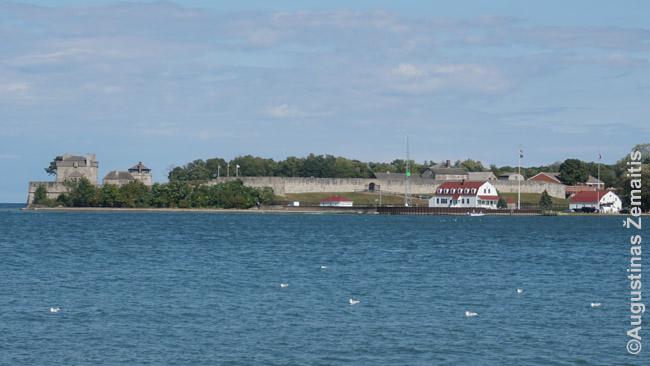 Amerikiečių fortas žvelgiant iš Niagara on the Lake