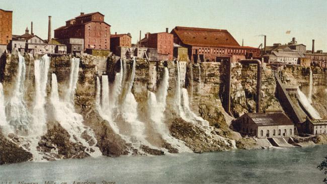 Niagaros krioklių vandenį 'skolindavęsi' fabrikai ~1900 metus