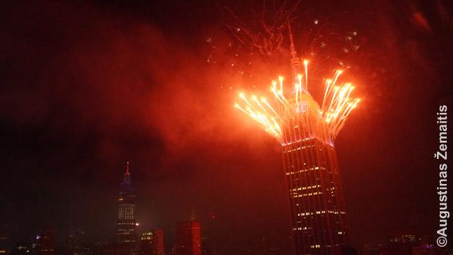 Liepos 4 d. fejerverkai nuo Empire State Building