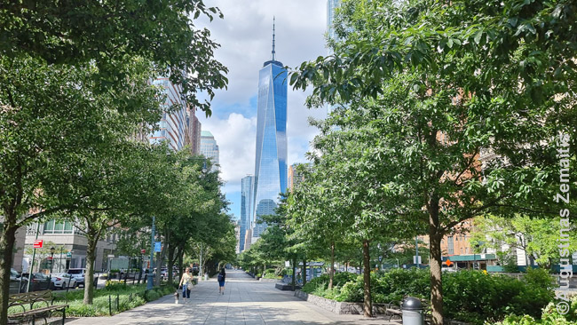 Pasaulio prekybos centras žemutiniame Manhetene
