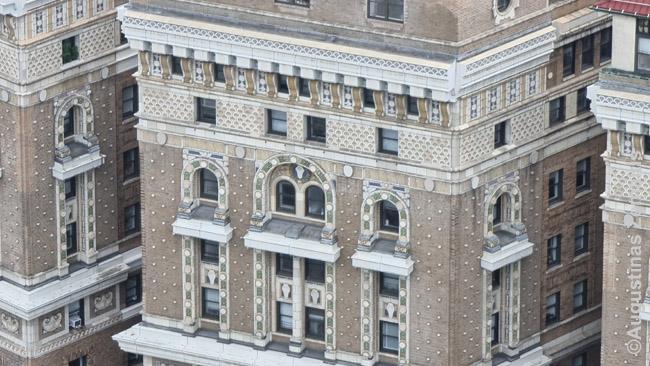 Niujorko dangoraižio fragmentas
