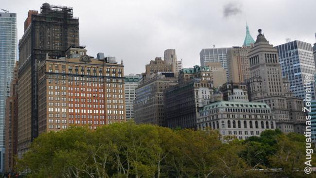 Seni ir įstabūs Niujorko dangoraižiai
