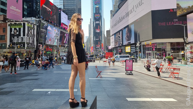 Niujorko Times aikštėje
