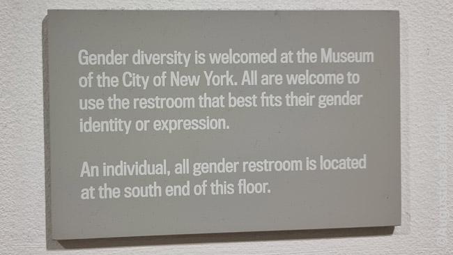 Lentelė Niujorko miesto muziejuje