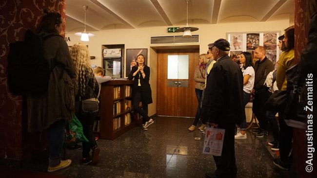Vilniaus Mažojo teatro ekskursija