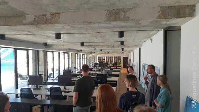 Konversijos architektų DO Architects biuras tame pačiame pastate