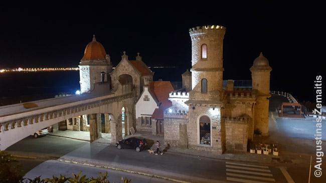 Torreon de Monje, statytas milijonieriaus Tornkvisto - vienas Mar Del Platos simbolių