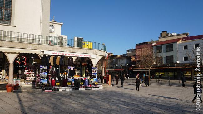 Denizlis - paprastas, bet didžiulis miestas su turgumi, keityklomis, normalių kainų kavinėmis ir dar daug kuo