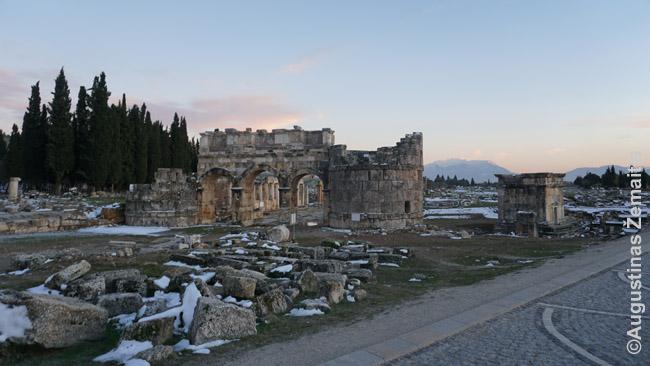 Hierapolio miesto vartai