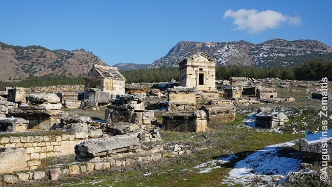 Hierapolio Nekropolis